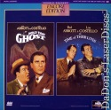 Hold That Ghost Time of Their Lives NEW Encore LaserDisc Comedy
