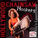 Hollywood Chainsaw Hookers WS Roan Rare UNCUT LaserDisc Horror