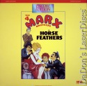 Horse Feathers 1932 Encore LaserDisc Rare Marx Brothers Comedy