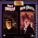 House of Frankenstein House of Dracula Encore Double LaserDisc Horror
