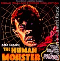 Human Monster Chamber of Horrors Double Roan LaserDisc Horror