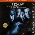 I Know What You Did Last Summer AC-3 WS Rare NEW LaserDisc Horror