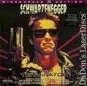 The Terminator THX WS Rare LaserDisc Schwarzenegger Sci-Fi