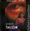 Terrified Mega-Rare LaserDisc Heather Graham Horror