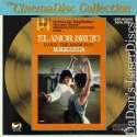 El Amor Brujo - Love, The Magician LaserDisc CinemaDisc Flamenco Drama Foreign
