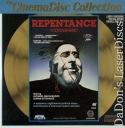 Repentance Rare CinemaDisc LaserDiscs Russian Tengiz Abuladze Drama Foreign