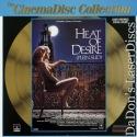 Heat of Desire Rare French LaserDisc CinemaDisc Moreau Drama Foreign