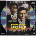 Badge of The Assassin Rare NEW LaserDisc Wood Drama