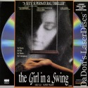 The Girl in a Swing Dolby Surround Rare LaserDisc Tilly Frazer Thriller *CLEARANCE*