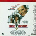False Identity Rare LaserDisc Stacy Keach Geneviève Bujold Crime Mystery
