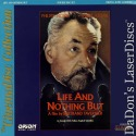 Life and Nothing But AKA La Vie et Rien d'Autre CinemaDisc LaserDisc Foreign