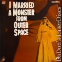 I Married a Monster from Outer Space LaserDisc Rare