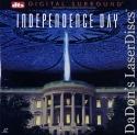Independence Day WS DTS THX LaserDisc Goldblum Smith Alien Invasion Sci-Fi