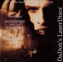 Interview with the Vampire AC-3 Widescreen LaserDiscs Pitt Horror