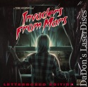 Invaders From Mars WS Rare Elite LaserDisc Black Carson Sci-Fi