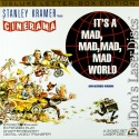 It's a Mad Mad Mad Mad World Uncut RM LaserDisc Boxset Comedy