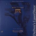 JFK DSS WS CAV Boxset Rare UNCUT LaserDisc Conspiracy Costner Drama