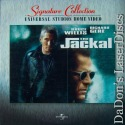 The Jackal AC-3 THX WS LaserDisc Signature Collection Thriller *CLEARANCE*