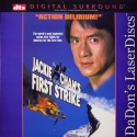 Jackie Chan's First Strike DTS WS LaserDisc Chan Wu Lou Action