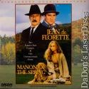 Jean de Florette - Manion of Spring WS Rare LaserDisc Boxset French Foreign