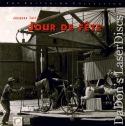 Jour De Fete Rare LaserDisc Criterion #94 Tati Comedy Foreign
