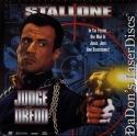 Judge Dredd AC-3 THX WS Rare LaserDisc LD Stallone Lane Sci-Fi *CLEARANCE*