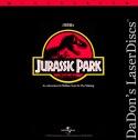 Jurassic Park AC-3 THX WS Rare LaserDisc Neill Goldblum Sci-Fi