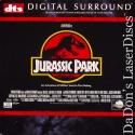 Jurassic Park THX WS Rare DTS LaserDiscs Goldblum Neill Sci-Fi