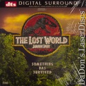 The Lost World Jurassic Park DTS THX WS NEW LaserDisc Goldblum Sci-Fi
