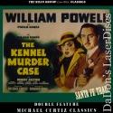 Kennel Murder Case / Santa Fe Trail Double Roan LaserDisc Mystery