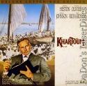 Khartoum DSS WS LaserDisc Heston Olivier Johnson Knox