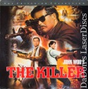 The Killer WS CAV Criterion #211 Rare LaserDisc Woo Yun-fat Action