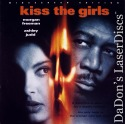 Kiss The Girls AC-3 WS LaserDisc Rare LD Freeman Judd Thriller
