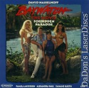 Baywatch Forbidden Paradise Dolby Surround NEW LaserDisc Hasselhoff Anderson