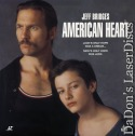 American Heart Dolby Surround Rare NEW LaserDisc Drama