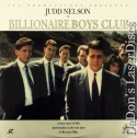 The Billionaire Boys Club Rare NEW LaserDisc Judd Nelson Shirley Knight Drama
