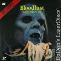 Bloodlust Subspecies III Rare Full Moon Cult LaserDisc NEW Anders Hove Horror