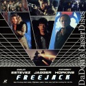 Freejack Widescreen Rare LaserDisc Jagger Hopkins Sci-Fi