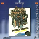 Police Academy 2 Their First Assignment Rare LaserDisc Comedy