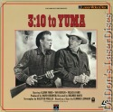 3:10 to Yuma 1957 Rare LaserDisc Farr Western