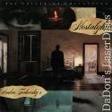 Nostalghia Widescreen Criterion #344 Rare LaserDisc Drama