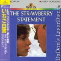 The Strawberry Statement Rare Japan Only LaserDisc Darby Davison Drama