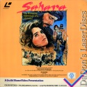Sahara Mega-Rare PAL LaserDisc Brooke Sheilds Action