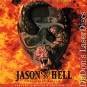 Friday the 13th Part 9 Jason Goes to Hell The Final Friday UNCUT NEW Rare LaserDisc
