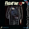 Friday the 13th Rare LaserDisc Betsy Palmer Horror