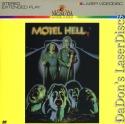 Motel Hell Rare LaserDisc Wolfman Jack Horror