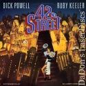 42nd Street Rare NEW Remastered LaserDisc Musical