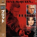 Bullitt Widescreen Rare Japan Only LaserDisc Steve McQueen Crime