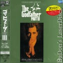 The Godfather Part III AC-3 Rare Japan NEW LaserDisc Mafia