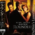 Rounders AC-3 Widescreen Mega-Rare Japan LaserDisc Drama